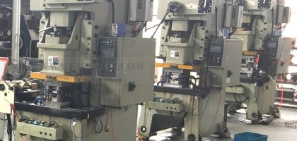 Introduction of three new progressive die stamping machines