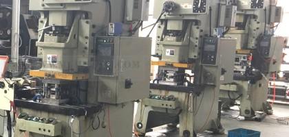 Introduction of three new progressive die stamping machines